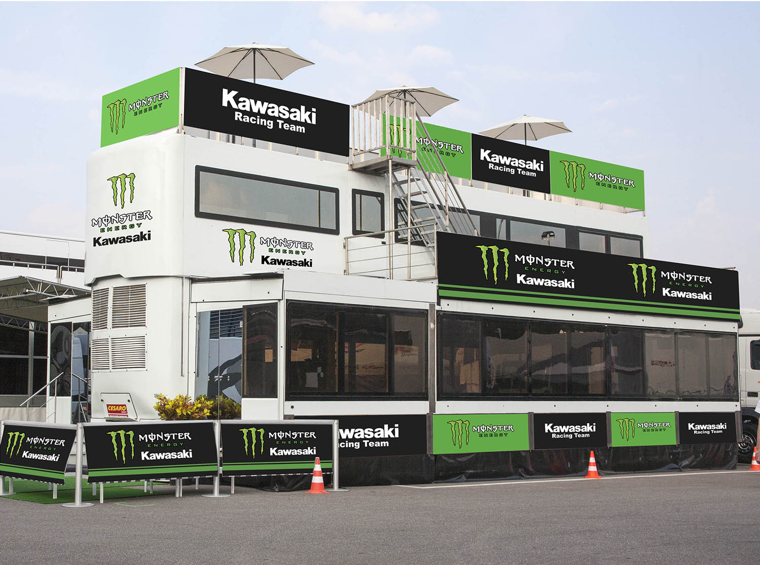 Cesaro group Rendering Monster Kawasaky 01