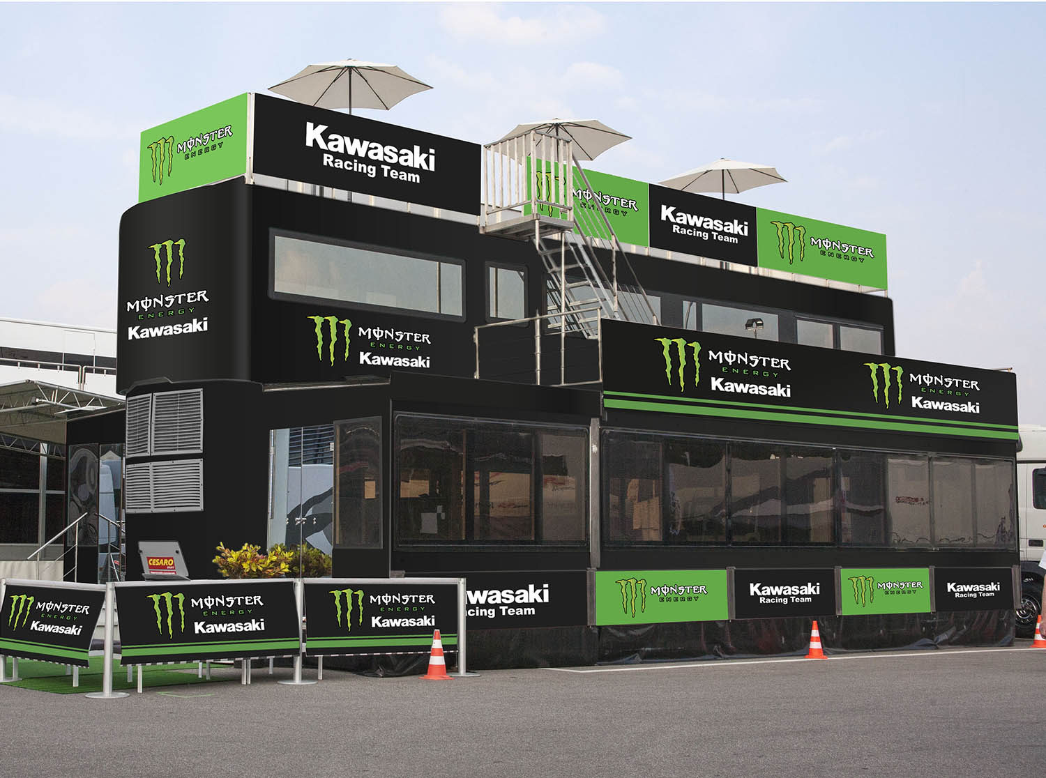 Cesaro group Rendering Monster Kawasaky 02